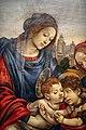 Filippino lippi, sacra famiglia coi ss. giovanni battista e margherita, 1495 ca. 03.jpg