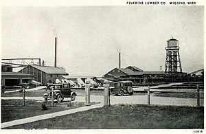 Finkbine-Guild Lumber Company - Finkbine Lumber Company sawmill, Wiggins, Mississippi, circa 1920