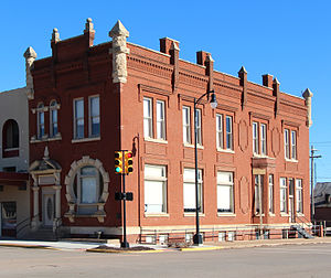 National Register of Historic Places listings in Noble County, Oklahoma - Image: First National Bank