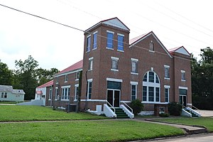 National Register of Historic Places listings in Okmulgee County, Oklahoma - Image: First Baptist Central Church, Okmulgee, OK