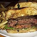 First Base Burger a.k.a. The tongue burger. (15561594362).jpg