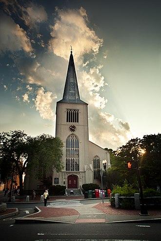 First Parish in Cambridge - First Parish in 2011