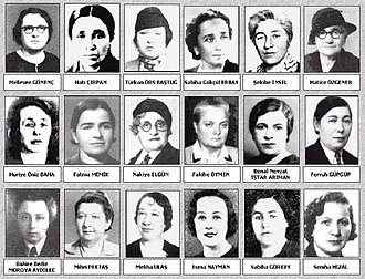 Grand National Assembly of Turkey - Eighteen female deputies joined the Turkish Parliament with the 1935 general elections.