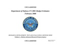 Fiscal Year 2001 DARPA budget.pdf