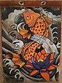 Fish painting in chandigarh japanese garden.jpg