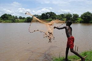 Central Africa - Fishing in Central Africa