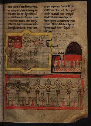 Apocalypse of Lorvão - Image: Fl 17 Apocalypse do Lorvão, O Mysterio das Sete Estrellas