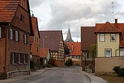 Leonberger Straße in Weissach