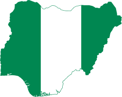 Flag-map of Nigeria.svg