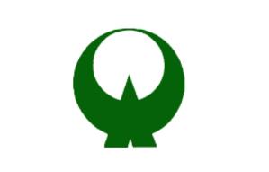 Ōtō, Fukuoka - Image: Flag of Oto Fukuoka