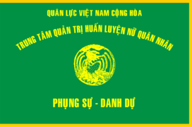 Flag of South Vietnamese Women's Army Corps Training Center.png