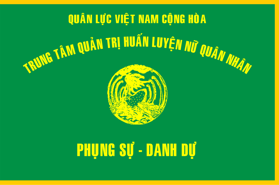 Flag of South Vietnamese Women's Army Corps Training Center