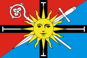 Svetlogorsky District - Image: Flag of Svetlogorsky rayon (Kaliningrad oblast)