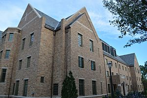 Flaherty Hall (University of Notre Dame) - Image: Flaherty Hall, front