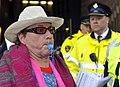 Flickr - NewsPhoto! - Amsterdamse stadsreinigers protesteren bij Giro d'Italia diner (1).jpg