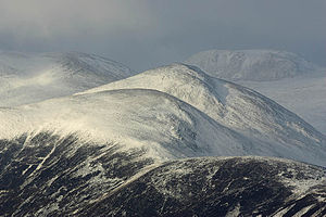 Breadalbane, Scotland - Breadalbane Hills in winter
