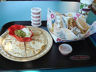 Quesadilla - A whole quesadilla