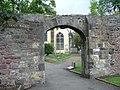 Flodden Wall, Greyfriars Kirkyard - geograph.org.uk - 1413056.jpg