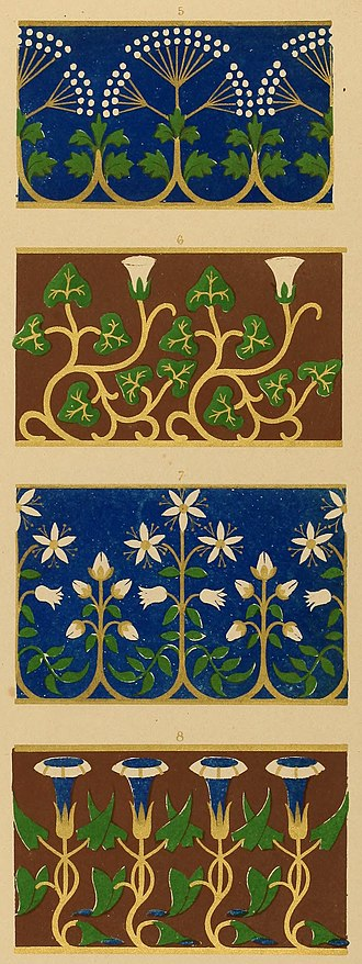 Mary Ann Beinecke Decorative Art Collection - Image: Floriated ornament
