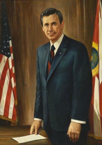 Florida Governor Reubin Askew