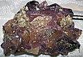 Fluorite-calcite (Annabel Lee Mine, near Cave-in-Rock, Illinois, USA) (33721145474).jpg