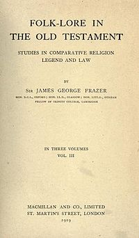 Folklore in the Old Testament Studies in Comparative Religion Legend and Law cover
