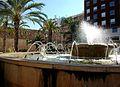 Font de la plaça del Tribunal de les Aigües, el Grau, València.JPG