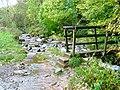 Footbridge Over Brockle Beck at Springs Wood - geograph.org.uk - 73367.jpg