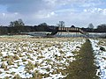 Footbridge crossing railway, east of Water Orton - geograph.org.uk - 1725863.jpg