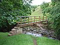 Footbridge on the Swindale Beck, near Knock - geograph.org.uk - 220308.jpg
