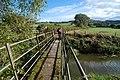 Footbridge over Rea Brook - geograph.org.uk - 1520226.jpg