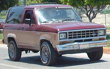 Ford Bronco II – Wikipedia