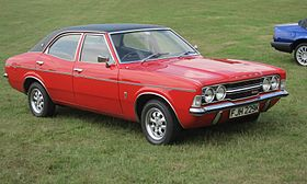Ford Cortina MkIII GXL ca 2000cc registered June 1972.JPG