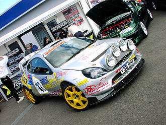 Ford Puma - Ford Puma rally car Group B (Andrew Costin-Hurley and Bryan Hull) at Trax 2006