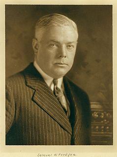 Samuel W. Fordyce American businessman