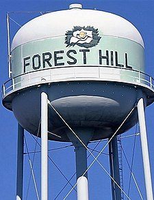Forest Hill, LA, Water Tower IMG 0147.JPG