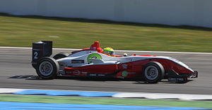 Alexander Sims (racing driver) - Sims competing at the second round of the 2010 Formula 3 Euro Series at Hockenheim.