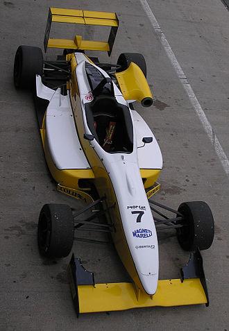 Asian Formula Three Championship - A typical Formula Three car