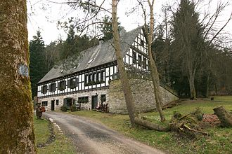 Forester's lodge - Dahm forester's lodge near Attendorn