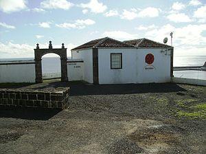 Fort of São Brás (Vila do Porto) - The main entrance portico with barracks and command building