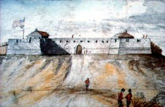 Fort Frederick (Albany) - Image: Fortfrederickalbany
