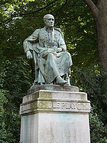 1=Statue of Frédéric Le Play by André-Joseph Allar (22 August 1845, 11 April 1926) In the Jardin du Luxembourg in Paris