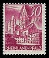 Fr. Zone Rheinland-Pfalz 1948 25 Dom in Mainz.jpg