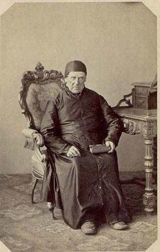 Francis Xavier Pierz - Fr. Pierz in 1864.