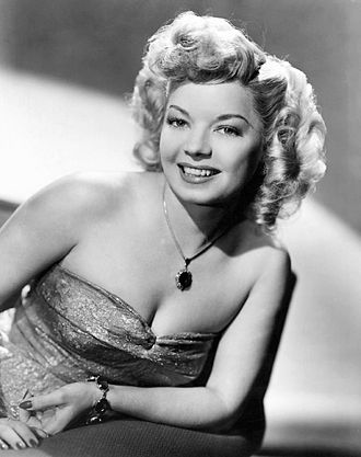 Nightclub act - Publicity shot of nightclub singer Frances Langford (1946)