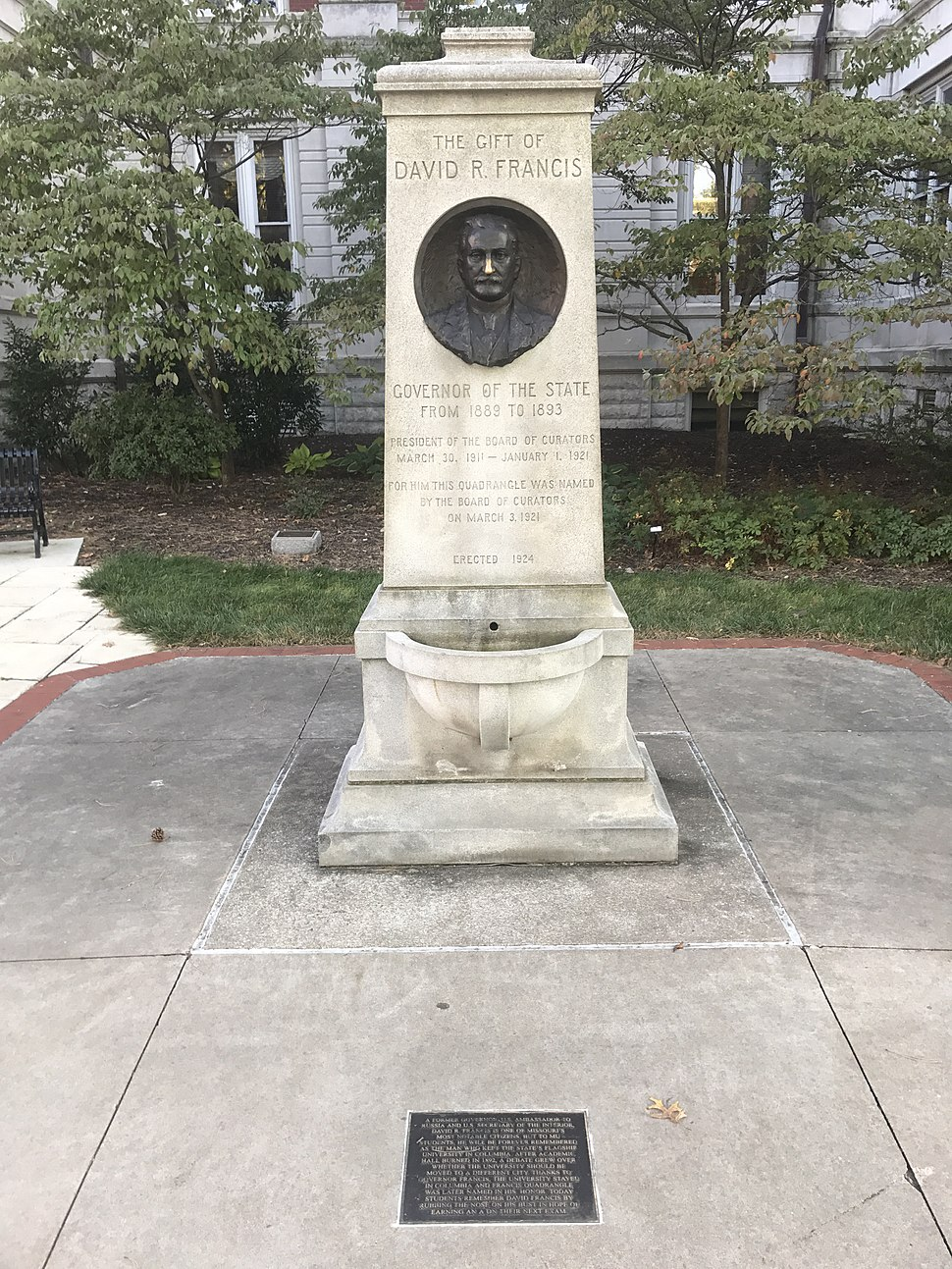 Francis marker at the University of Missouri north side