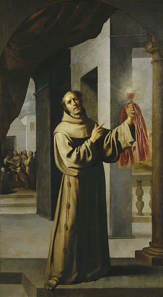 James of the Marches - Saint James of the Marches by Francisco Zurbarán