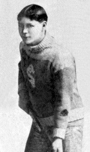 Michigan Soo Indians - Michigan Soo Indians player Frank Switzer.