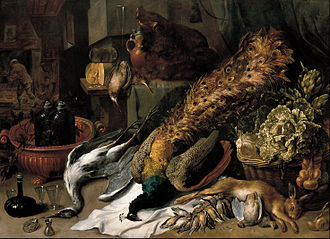 Animalier - Frans Snyders – Still Life with a Wine Cooler