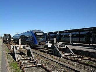 Frederikshavn - Frederikshavn railway station.